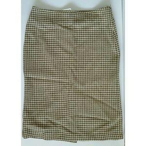 Barneys New York skirt Wool blend sz M /42(approx)